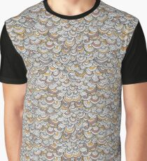 Scallop Pattern Graphic T-Shirt