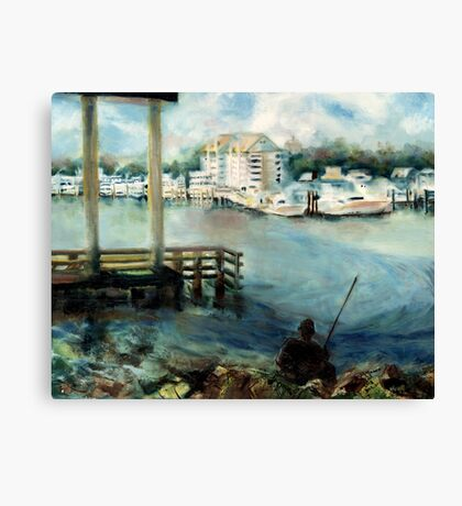 Gone Fishing Canvas Print