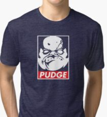 Pudge Dota 2 Black Background Tri-blend T-Shirt