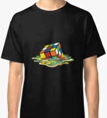Melted Rubiks Cube  Classic T-Shirt