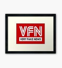 VFN - Very Fake News Framed Print