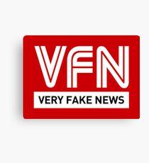 VFN - Very Fake News Canvas Print