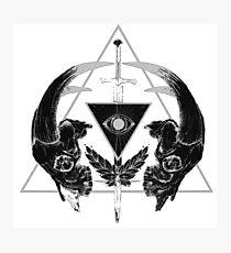 occult - dark art Photographic Print