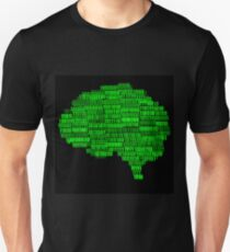 Digital Brain Illustration Unisex T-Shirt