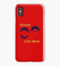 Boogie and The Brow iPhone Case/Skin