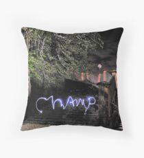 Virtual Graffiti Throw Pillow
