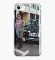 LIMO MERCEDES 300D W123 LONG WHEELBASE SEDAN COSTA RICA iPhone Case/Skin