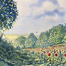 """""""Poppies A'Plenty"""" by Glenn  Marshall"""