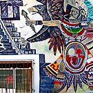 Maya Warrior Wall by phil decocco