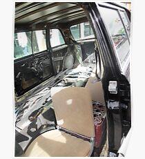 LIMO 300D W123 MERCEDES LONG WHEELBASE SEDAN COSTA RICA Poster