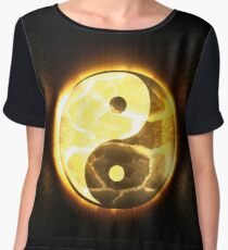 Awesome Yin and Yang Women's Chiffon Top