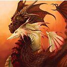 Dragon Couple by piyastudios