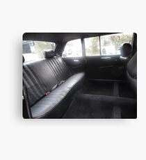 LIMO COSTA RICA MERCEDES W123 300D LONG WHEELBASE SEDAN Canvas Print