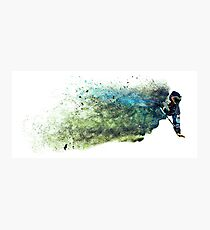 Sandstorm Paintball Player Photographic Print