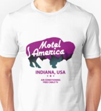 Motel America in Eagle Point  Indiana Unisex T-Shirt