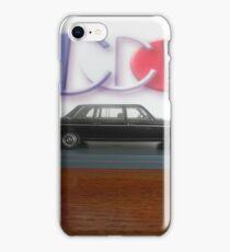 LIMO COSTA RICA W123 MERCEDES 300D LONG WHEELBASE SEDAN iPhone Case/Skin
