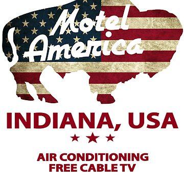 Motel America  by vndesign