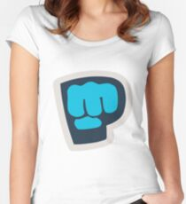 Bro Fist! Women's Fitted Scoop T-Shirt