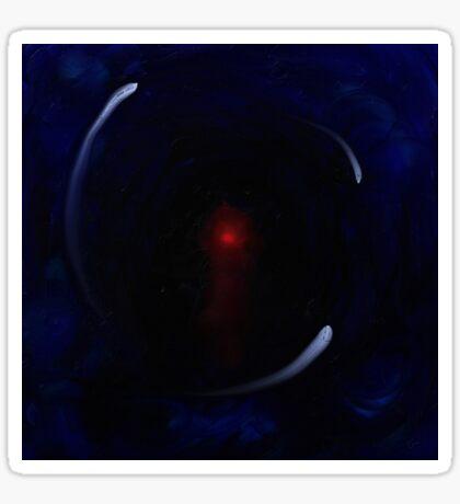 Black hole of grief Sticker