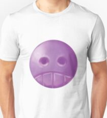 Weird Purple  Skull Unisex T-Shirt