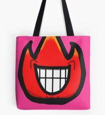 Smile-Smile the Fire Guy Tote Bag
