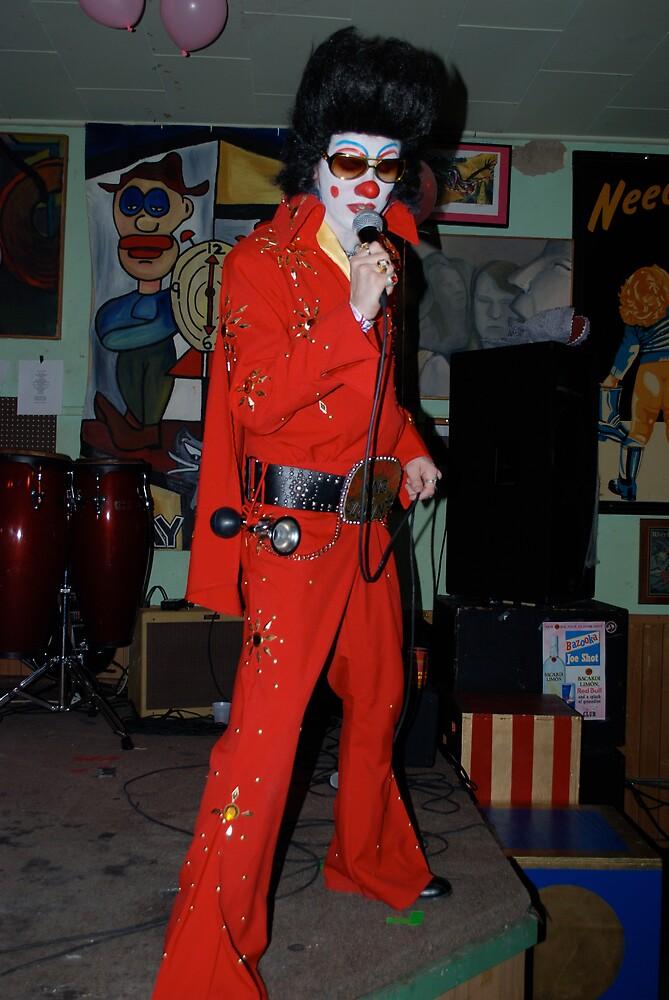 Clownvis by Jim Caldwell