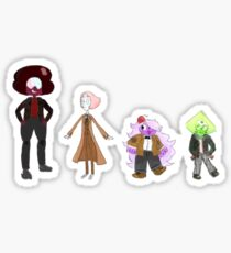 The Doctor Gems Sticker