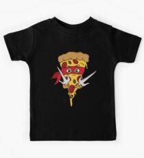 Red Ninja Pizza Kids Clothes