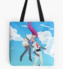 Team Rocket's Blasting Off Again! Tote Bag