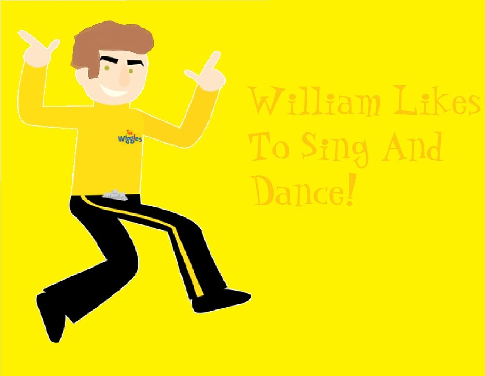 William Likes To Sing And Dance! by LanceGuintu