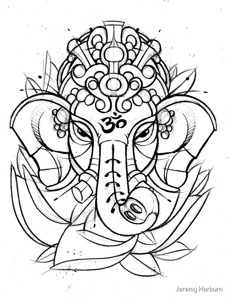 Ganesh by Jeremy Harburn
