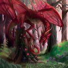 Spring Dragon by piyastudios