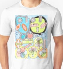 Abstract Star Colony Pattern  T-Shirt