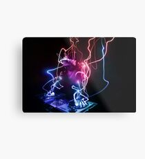 Magic DJ Metal Print