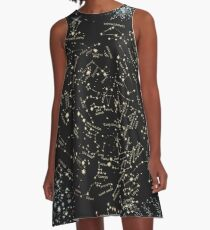 Come with me to see the stars A-Line Dress