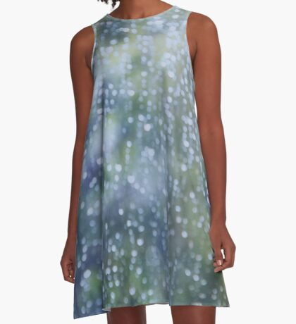 Warm Summer Rain A-Line Dress