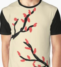 Japanese Tree Graphic T-Shirt