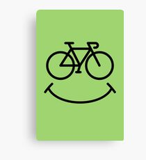 Bicycle Smile Canvas Print