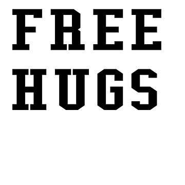 FREE HUGS (black) by RobC13