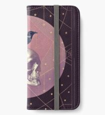 Vinilo o funda para iPhone Crow and Skull Collage