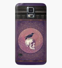 Crow and Skull Collage Case/Skin for Samsung Galaxy