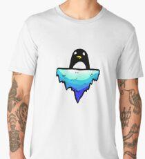 Floating Penguin Men's Premium T-Shirt