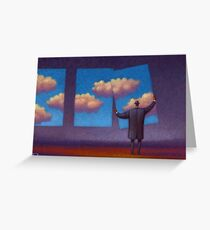 The Sky Collector Greeting Card