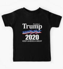President Trump 2020 - Keep America Great Kids T-Shirt