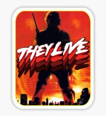 They Live Sticker