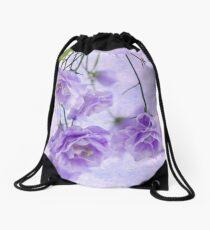 Campanella Blossoms Suspended - Macro Drawstring Bag