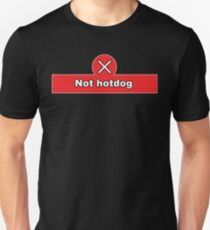 Not Hot Dog Silicon Valley Funny Quote Shirt Unisex T-Shirt