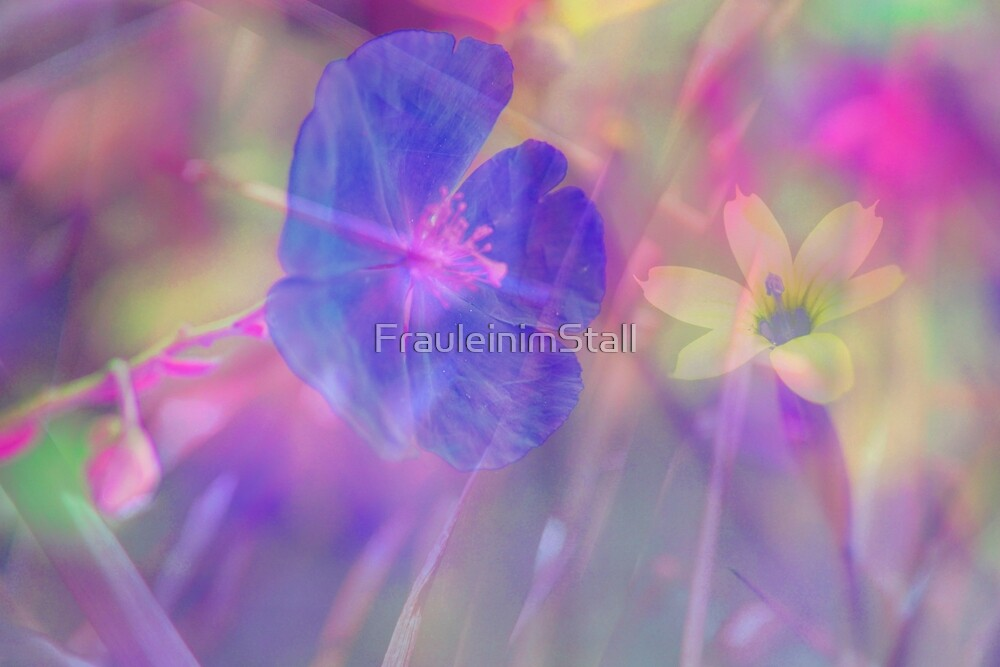 Space flowers by FrauleinimStall