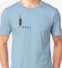 Signal Walkie Talkie Design T-Shirt
