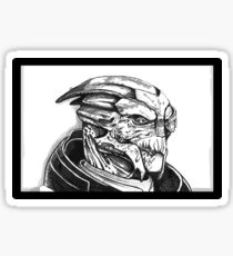 Garrus Vakarian: Mass Effect Sticker